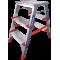 Стремянка индустриальная Новая высота NV 512 2x3 ступеней (5120203)
