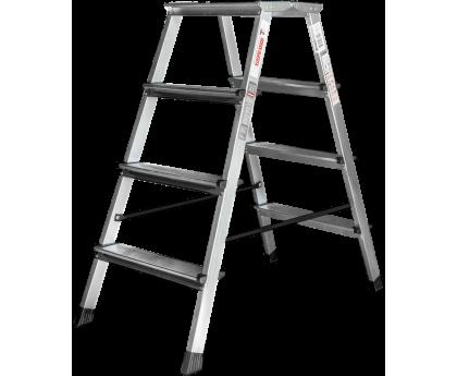 Стремянка с увеличенной площадкой Новая высота NV 212 2x4 ступеней (2120204)