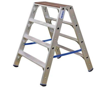 Стремянка KRAUSE Stabilo+ 2x4 ступени (123862)