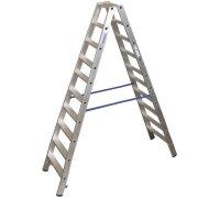 Стремянка KRAUSE Stabilo 2x10 ступеней (124777)