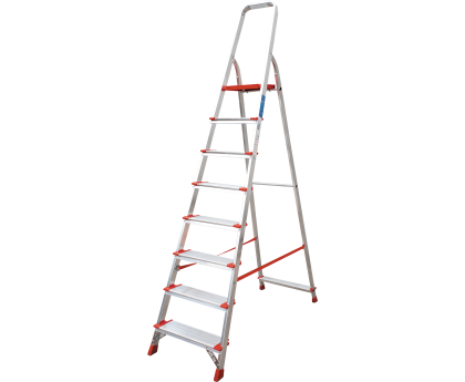 Лестница-стремянка индустриальная Новая высота NV 511 8 ступеней (5110108)