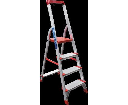 Стремянка с лотком-органайзером Новая высота NV 515 4 ступени (5150104)