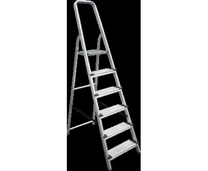 Стремянка с широкими ступенями Новая высота NV 1117 6 ступеней (1117106)
