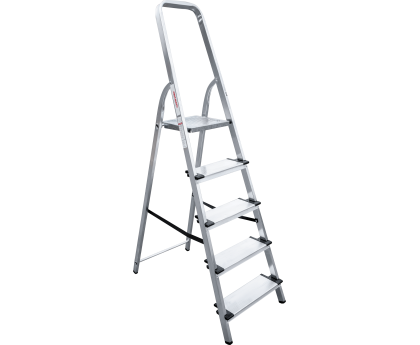 Стремянка с широкими ступенями Новая высота NV 1117 5 ступеней (1117105)