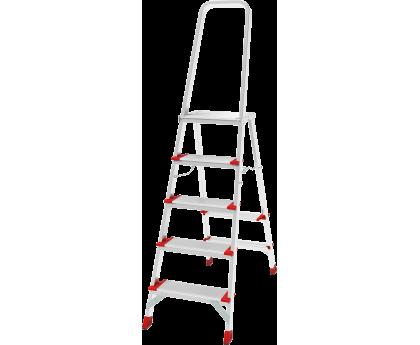 Стремянка с большой верхней площадкой Новая высота NV 5130 5 ступеней (5130105)
