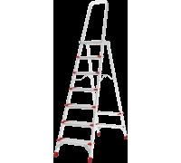 Стремянка с большой верхней площадкой Новая высота NV 5130 7 ступеней (5130107)