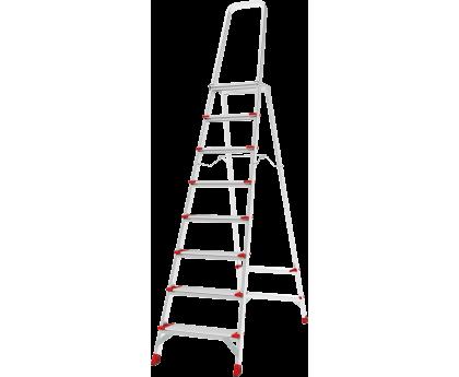 Стремянка с большой верхней площадкой Новая высота NV 5130 8 ступеней (5130108)
