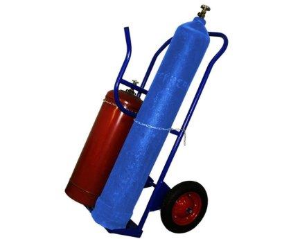 Тележка для перевозки двух газовых баллонов (КП-2У)