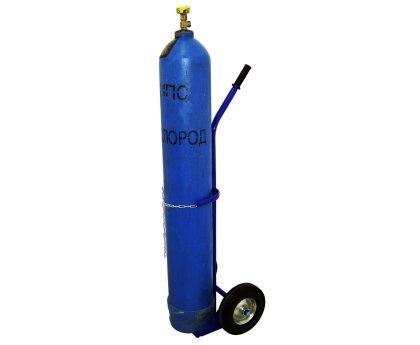 Тележка для перевозки одного газового баллона (ГБР-1)