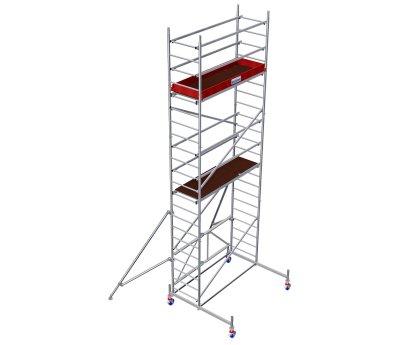 Модульная вышка строительная KRAUSE ProTec XS 0,6x2,0м (6,8м) (920041)